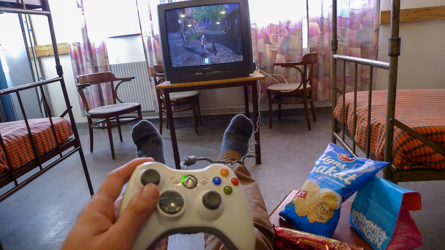 Xbox och snask